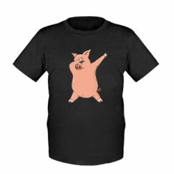 Дитяча футболка Pig dab