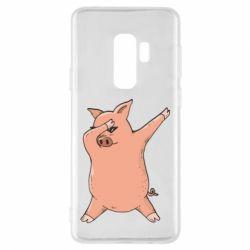 Чохол для Samsung S9+ Pig dab