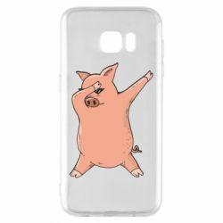 Чохол для Samsung S7 EDGE Pig dab