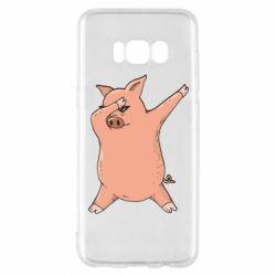 Чохол для Samsung S8 Pig dab