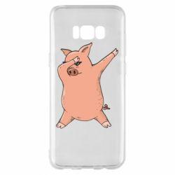 Чохол для Samsung S8+ Pig dab
