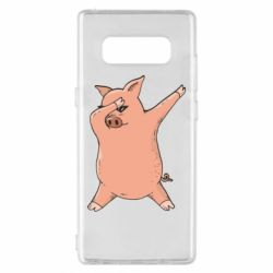 Чохол для Samsung Note 8 Pig dab
