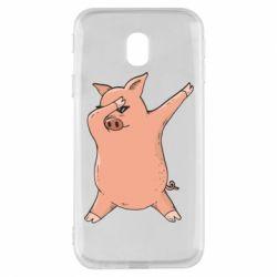Чохол для Samsung J3 2017 Pig dab