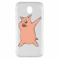 Чохол для Samsung J7 2017 Pig dab