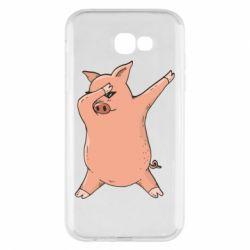 Чохол для Samsung A7 2017 Pig dab