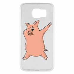 Чохол для Samsung S6 Pig dab