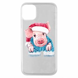 Чохол для iPhone 11 Pro Pig in a hat