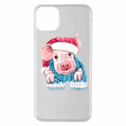 Чохол для iPhone 11 Pro Max Pig in a hat
