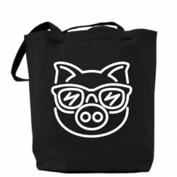 Сумка Pig in the glasses