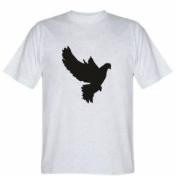 Мужская футболка Pigeon silhouette