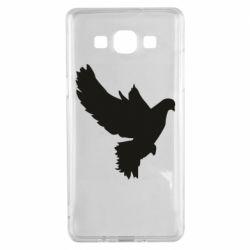 Чехол для Samsung A5 2015 Pigeon silhouette