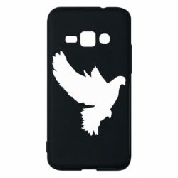 Чехол для Samsung J1 2016 Pigeon silhouette
