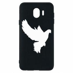 Чехол для Samsung J4 Pigeon silhouette
