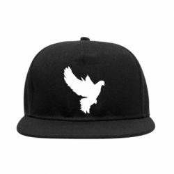 Снепбек Pigeon silhouette