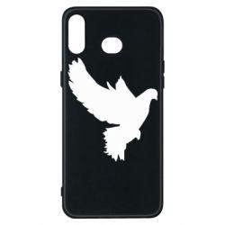 Чехол для Samsung A6s Pigeon silhouette