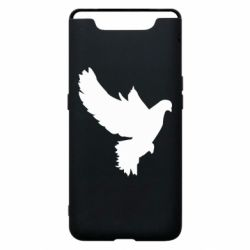 Чехол для Samsung A80 Pigeon silhouette