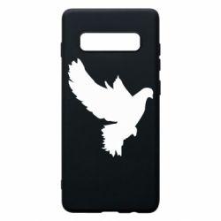 Чехол для Samsung S10+ Pigeon silhouette