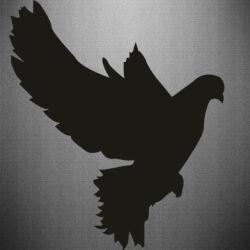 Наклейка Pigeon silhouette
