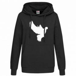 Женская толстовка Pigeon silhouette