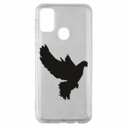 Чехол для Samsung M30s Pigeon silhouette