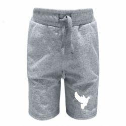 Детские шорты Pigeon silhouette