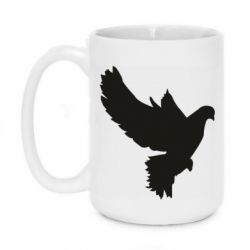 Кружка 420ml Pigeon silhouette