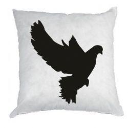 Подушка Pigeon silhouette