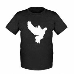 Детская футболка Pigeon silhouette