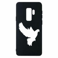 Чехол для Samsung S9+ Pigeon silhouette