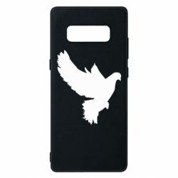 Чехол для Samsung Note 8 Pigeon silhouette