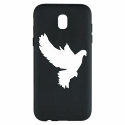 Чехол для Samsung J5 2017 Pigeon silhouette