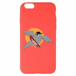 Чохол для iPhone 6 Plus/6S Plus Pigeon with skateboard