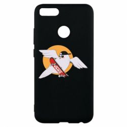 Чохол для Xiaomi Mi A1 Pigeon with skateboard
