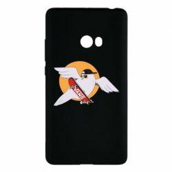 Чохол для Xiaomi Mi Note 2 Pigeon with skateboard