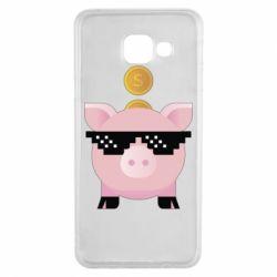 Чохол для Samsung A3 2016 Piggy bank