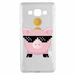 Чохол для Samsung A5 2015 Piggy bank