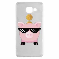 Чохол для Samsung A5 2016 Piggy bank
