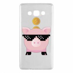 Чохол для Samsung A7 2015 Piggy bank