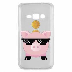 Чохол для Samsung J1 2016 Piggy bank