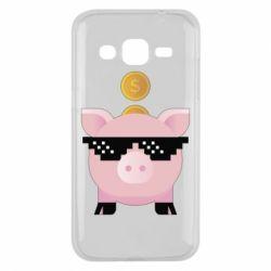 Чохол для Samsung J2 2015 Piggy bank