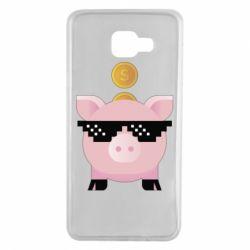 Чохол для Samsung A7 2016 Piggy bank