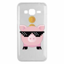 Чохол для Samsung J3 2016 Piggy bank