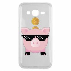 Чохол для Samsung J5 2015 Piggy bank