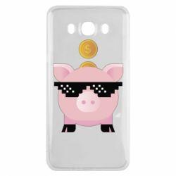 Чохол для Samsung J7 2016 Piggy bank