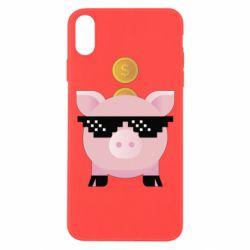 Чохол для iPhone Xs Max Piggy bank