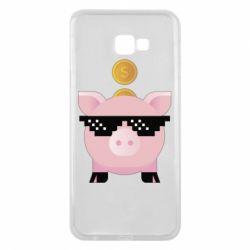 Чохол для Samsung J4 Plus 2018 Piggy bank