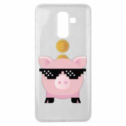 Чохол для Samsung J8 2018 Piggy bank