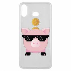 Чохол для Samsung A6s Piggy bank