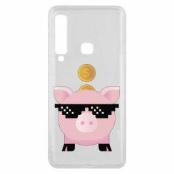 Чохол для Samsung A9 2018 Piggy bank
