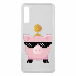 Чохол для Samsung A7 2018 Piggy bank